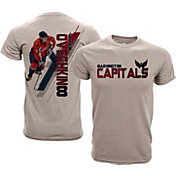 Levelwear Youth Washington Capitals Alex Ovechkin #8 Charcoal Spectrum T-Shirt