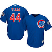 Majestic Men's 2016 World Series Replica Chicago Cubs Anthony Rizzo #44 Cool Base Alternate Royal Jersey