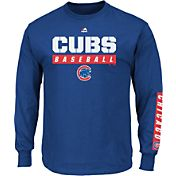 Majestic Men's Chicago Cubs Proven Pastime Royal Long Sleeve Shirt