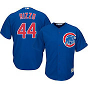 Majestic Men's Replica Chicago Cubs Anthony Rizzo #44 Cool Base Alternate Royal Jersey
