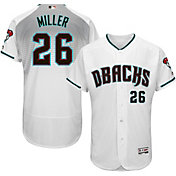 Majestic Men's Authentic Arizona Diamondbacks Shelby Miller #26 Alternate Home White Flex Base On-Field Jersey