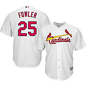 Majestic Youth Replica St. Louis Cardinals Dexter Fowler #25 Cool Base Home White Jersey