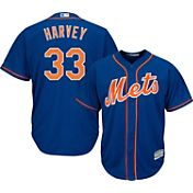 Majestic Youth Replica New York Mets Matt Harvey #33 Cool Base Alternate Royal Jersey