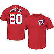 Majestic Youth Washington Nationals Daniel Murphy #20 Red T-Shirt