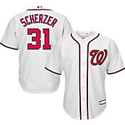 Majestic Youth Replica Washington Nationals Max Scherzer #31 Cool Base Home White Jersey