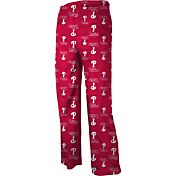adidas Youth Philadelphia Phillies Team Logo Pajama Pants
