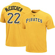 Majestic Youth Pittsburgh Pirates Andrew McCutchen #22 Gold T-Shirt