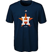 Majestic Youth Houston Astros Navy Cool Base T-Shirt