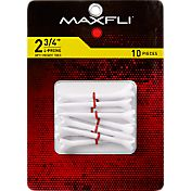 "Maxfli 4-Prong Opti-Height 2.75"" Golf Tees – 10-Pack"