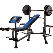 Marcy Standard Weight Bench with 80 lb. Weight Set