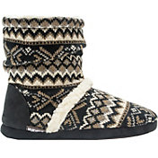 MUK LUKS Women's Scrunch Boot Slippers