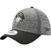 New Era Men's Pittsburgh Pirates 39Thirty Clubhouse Grey/Black Flex Hat
