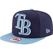 New Era Men's Tampa Bay Rays 9Fifty Grand Logo Adjustable Hat