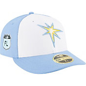 New Era Men's Tampa Bay Rays 59Fifty Diamond Era Spring Training Low Crown Fitted Hat