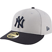 New Era Men's New York Yankees 59Fifty Diamond Era Grey Low Crown Fitted Hat