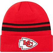 New Era Men's Kansas City Chiefs Cuffed Red Knit Hat