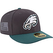 New Era Men's Philadelphia Eagles Crafted in America 59Fifty Graphite Fitted Hat