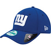 New Era Men's New York Giants League 9Forty Adjustable Blue Hat