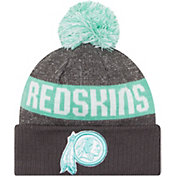 New Era Washington Redskins Sport Clear Mint Knit Beanie