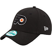 New Era Men's Philadelphia Flyers 9FORTY Black Adjustable Hat