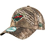 New Era Men's Minnesota Wild 9Forty The League Real Tree Camo Adjustable Hat