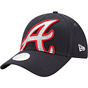 New Era Women's Atlanta Braves 9Forty Glitter Glam Adjustable Hat