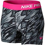Nike Girls' Pro Cool Overdrive Printed Shorts