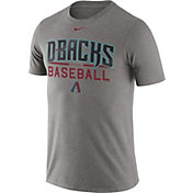 Nike Men's Arizona Diamondbacks Practice Grey T-Shirt