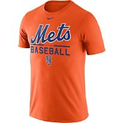 Nike Men's New York Mets Practice Orange T-Shirt