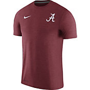 Nike Men's Alabama Crimson Tide Crimson Coach Football T-Shirt