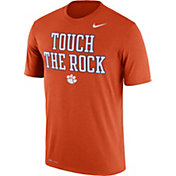 Nike Men's Clemson Tigers Orange 'Touch the Rock' Authentic Local Legend T-Shirt