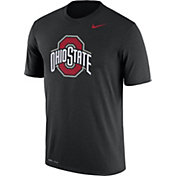 Nike Men's Ohio State Buckeyes Black Logo Dry Legend T-Shirt