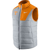 Nike Men's Tennessee Volunteers Gray/Tennessee Orange Football Player Vest