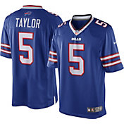 Nike Men's Home Limited Jersey Buffalo Bills Tyrod Taylor #5
