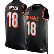 Nike Men's Cincinnati Bengals A.J. Green #18 Black Jersey Tank Top