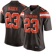 Nike Men's Home Game Jersey Cleveland Browns Joe Haden #23
