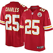 Nike Men's Home Limited Jersey Kansas City Chiefs Jamaal Charles #25