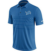 Nike Men's Detroit Lions Sideline 2017 Early Season Blue Polo