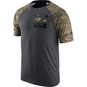 Nike Men's Baltimore Ravens Salute to Service 2016 Anthracite Performance T-Shirt