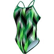 Nike Women's Beam Modern Cut-Out Tank Swimsuit