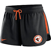 Nike Women's Baltimore Orioles Dri-FIT Cooperstown Black Performance Shorts