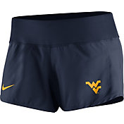 Nike Women's West Virginia Mountaineers Blue Gear Up Crew Performance Shorts