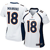 Nike Women's Away Game Jersey Denver Broncos Peyton Manning #18