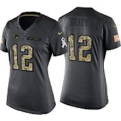 Nike Women's Home Game Jersey New England Patriots Tom Brady #12 Salute to Service 2016