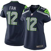 Nike Women's Home Limited Jersey Seattle Seahawks Fan #12