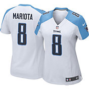 Nike Women's Away Game Jersey Tennessee Titans Marcus Mariota #8