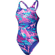 Nike Women's Tropic Fast Back Swimsuit