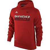 Nike Youth Ohio State Buckeyes Scarlet Therma-FIT Hoodie