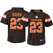 Nike Boys' Home Game Jersey Cleveland Browns Joe Haden #23