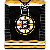 Northwest Boston Bruins Raschel Throw Blanket